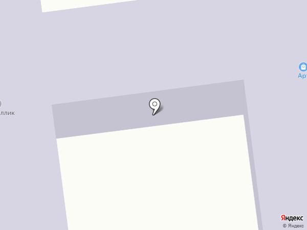 Кристаллик на карте Абакана