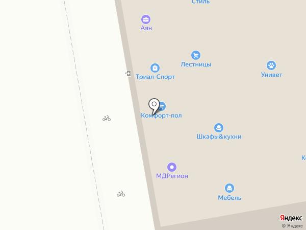 Старче на карте Абакана