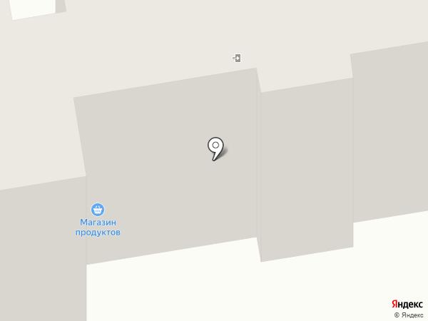 Этуаль на карте Абакана