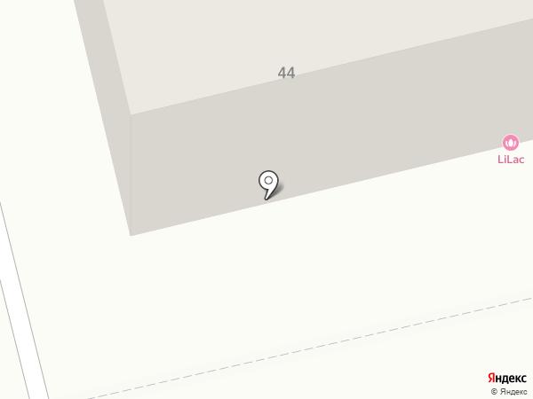 Дарья на карте Абакана