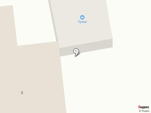 Тупик на карте Абакана