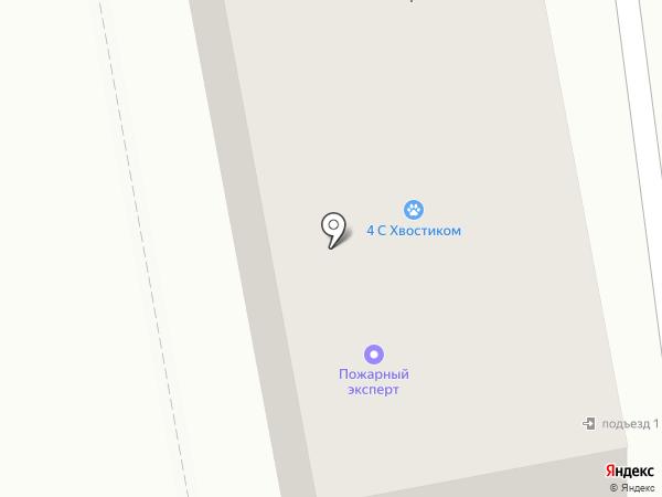 Сервис-Бест А на карте Абакана