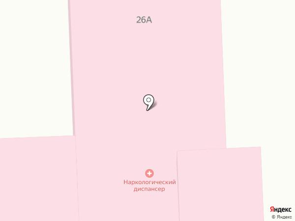 Центр восстановительной медицины и реабилитации на карте Абакана