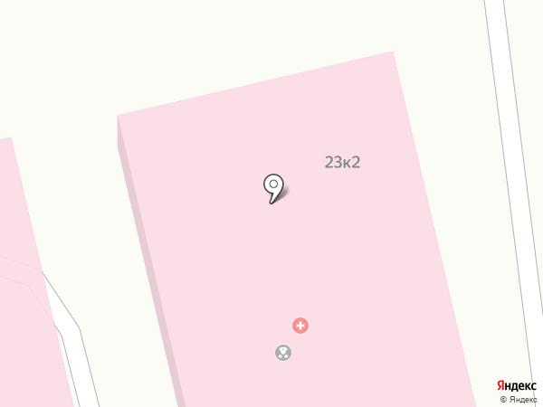 Хакасская республиканская клиническая больница им. Г.Я. Ремишевской на карте Абакана
