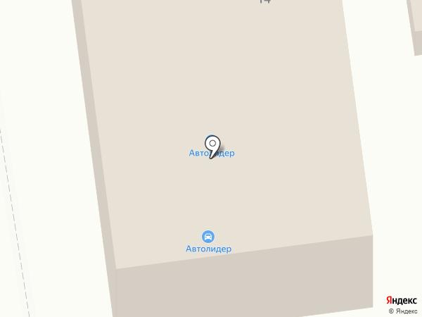 Автолидер на карте Абакана