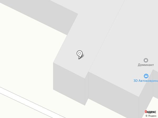 Тайга на карте Абакана