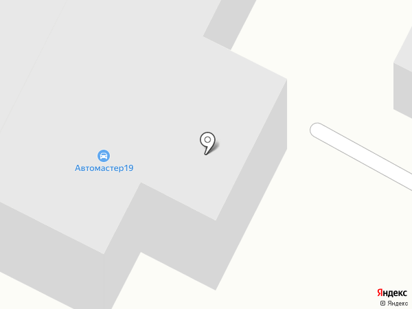 4х4 на карте Абакана
