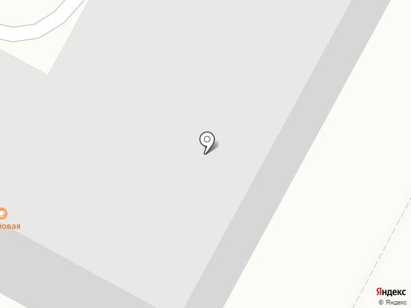 Пикап на карте Абакана