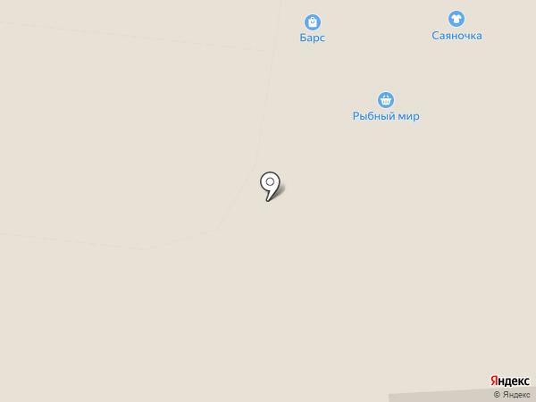 Сулико на карте Абакана
