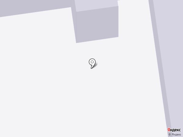 Территориальное общественное самоуправления района Гавань на карте Абакана