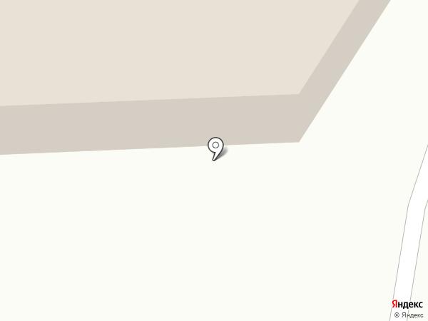 Звезда востока на карте Абакана