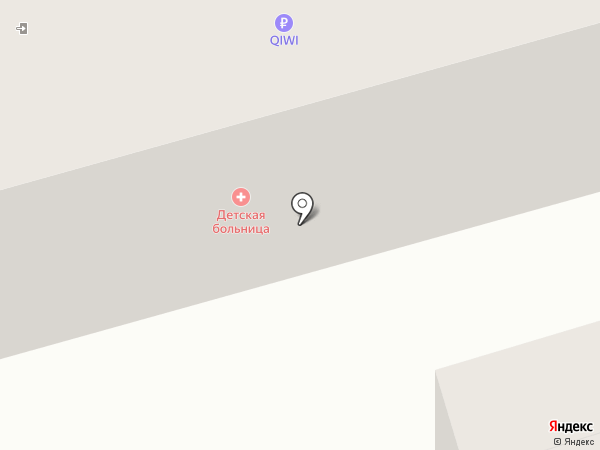 Педиатрический участок №6 на карте Абакана