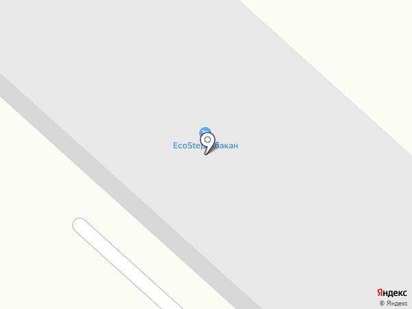 Ангом на карте Абакана