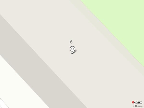 Луч на карте Минусинска