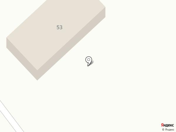 Автостоянка на карте Минусинска