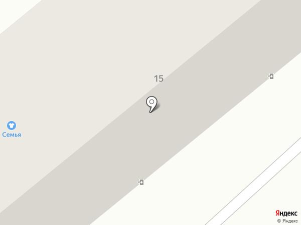 Маркор на карте Минусинска