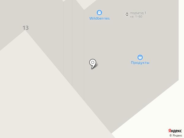 Минор на карте Минусинска