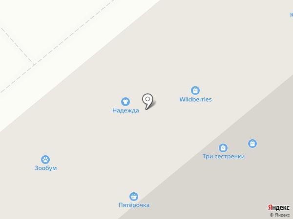 Фасон на карте Минусинска