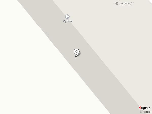 Рубин на карте Минусинска