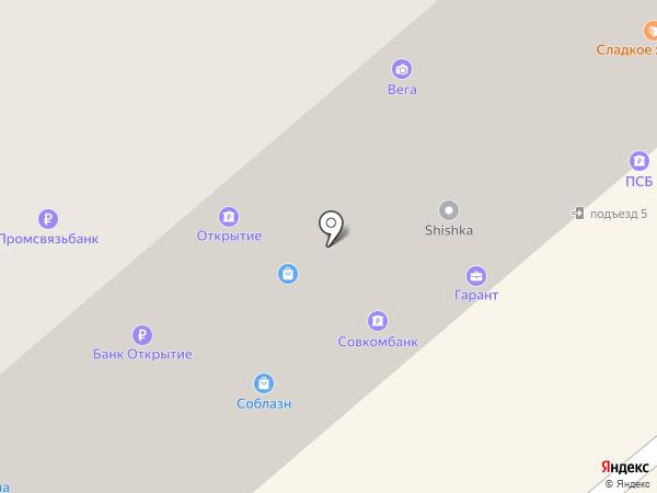 Вег@ на карте Минусинска