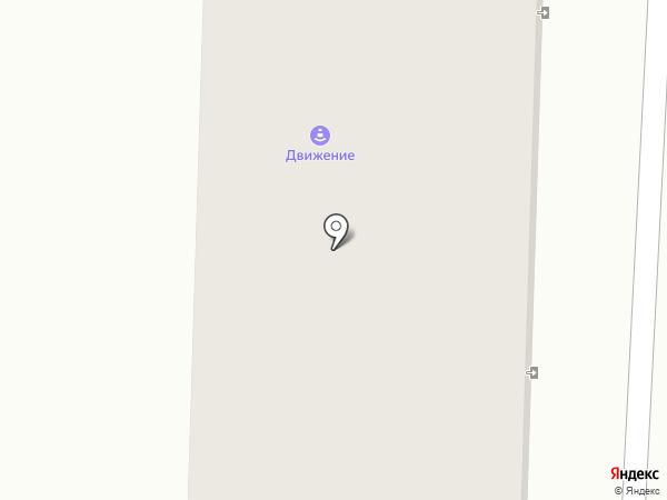 Движение на карте Минусинска