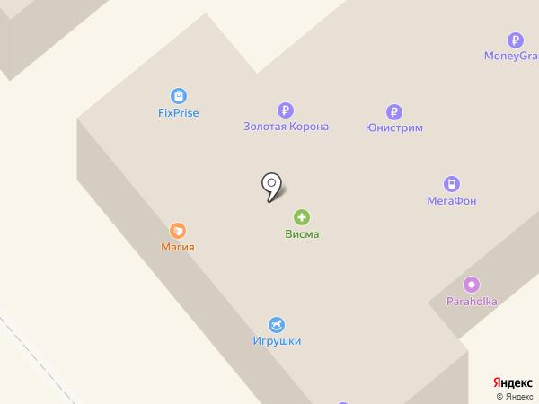 Тюль-Пан на карте Минусинска