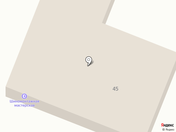 Шиномонтажная мастерская на Советской на карте Минусинска