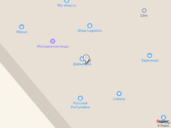 Плюс на карте Минусинска