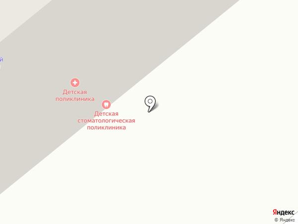 Минусинская городская детская поликлиника на карте Минусинска