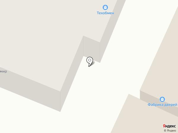 КМком на карте Минусинска