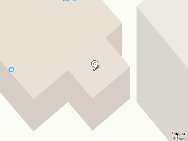 Раздолье на карте Минусинска