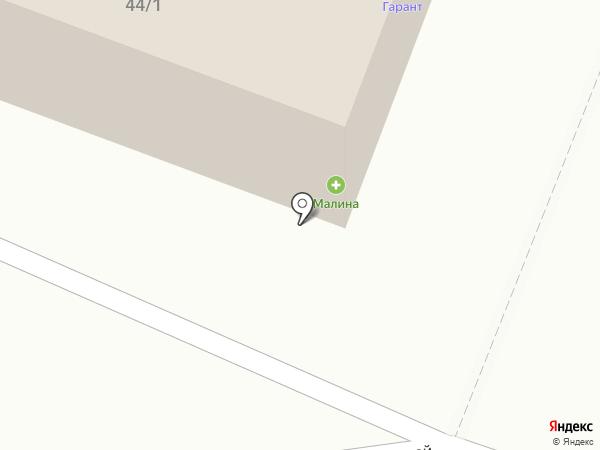 Гарант на карте Минусинска
