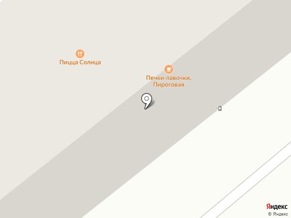 Компас, магазин товаров для спорта на карте Минусинска