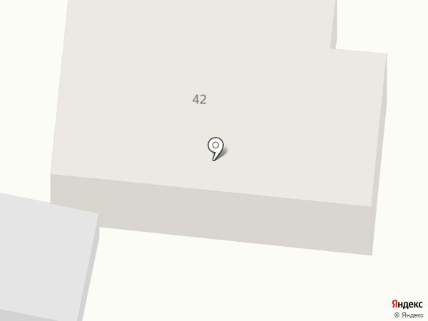 Лента на карте Минусинска