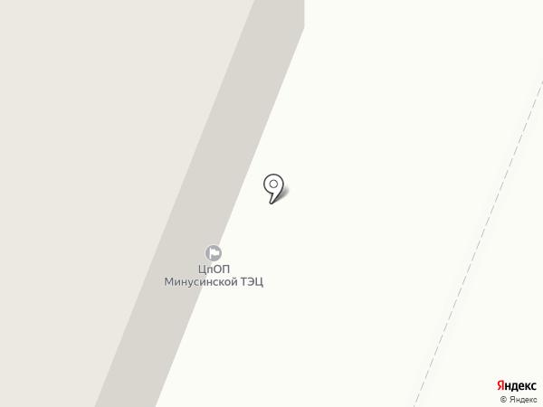 Центр по обслуживанию потребителей Минусинской ТЭЦ на карте Минусинска