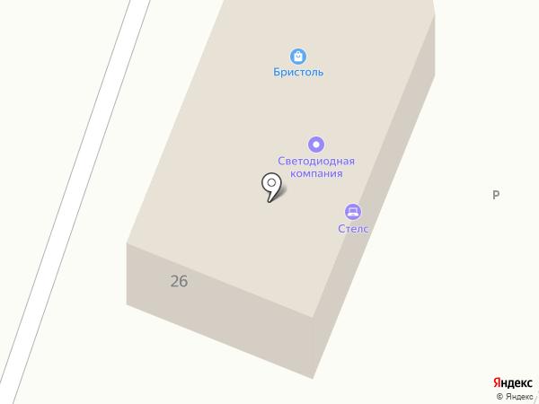 Светодиодная компания на карте Минусинска