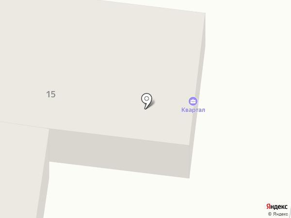 Терминал на карте Минусинска