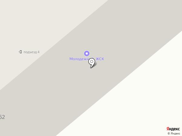 Молодежный на карте Минусинска