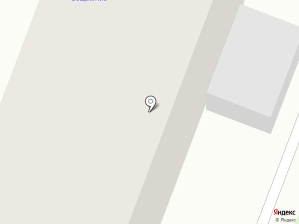 Общежитие на карте Минусинска
