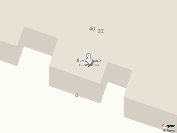 Дом детского творчества на карте Минусинска
