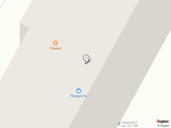 Олимп на карте Минусинска