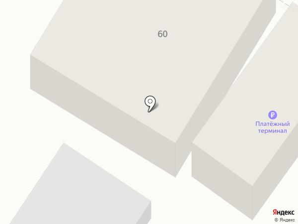 Линия офиса на карте Минусинска
