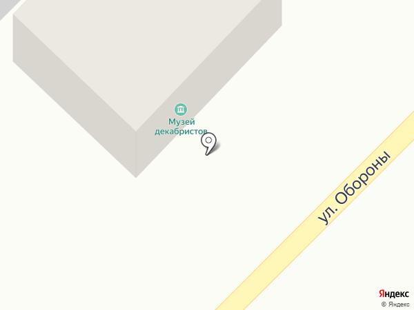 Музей декабристов им. Н.М. Мартьянова на карте Минусинска