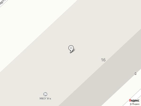 Вариант, ТСЖ на карте Минусинска