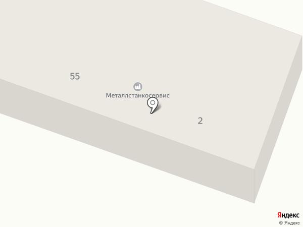 Металлстанкосервис на карте Минусинска