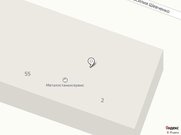 Бэст на карте Минусинска