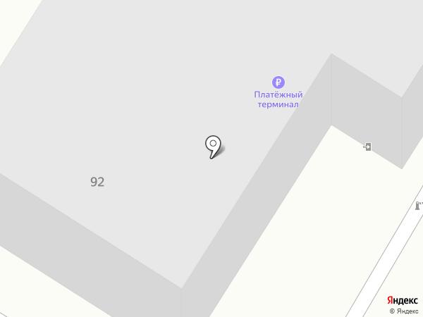 Минусинская кондитерская фабрика на карте Минусинска