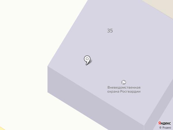 Отдел вневедомственной охраны по Минусинскому району на карте Минусинска