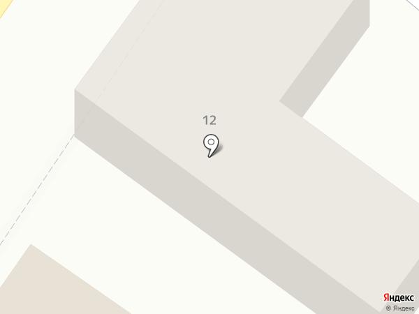 Автостоп на карте Минусинска