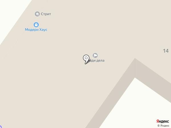 Защитник на карте Минусинска
